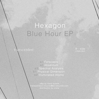 Cover art - Hexagon: Blue Hour EP