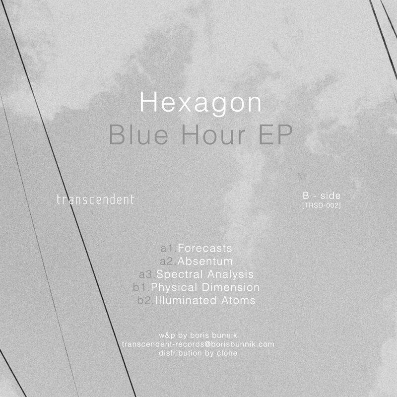 Cover art - Hexagon: Blue Hour EP