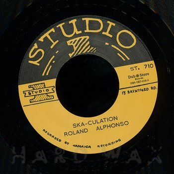 Cover art - Roland Alphonso: Ska-Culation