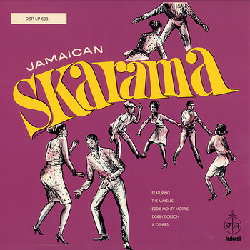 Cover art - Various Artists: Jamaican Skarama