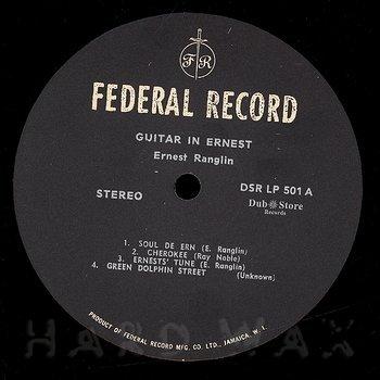 Cover art - Ernest Ranglin: Guitar In Ernest