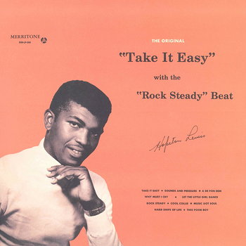 Cover art - Hopeton Lewis: Take It Easy With The Rock Steady Beat