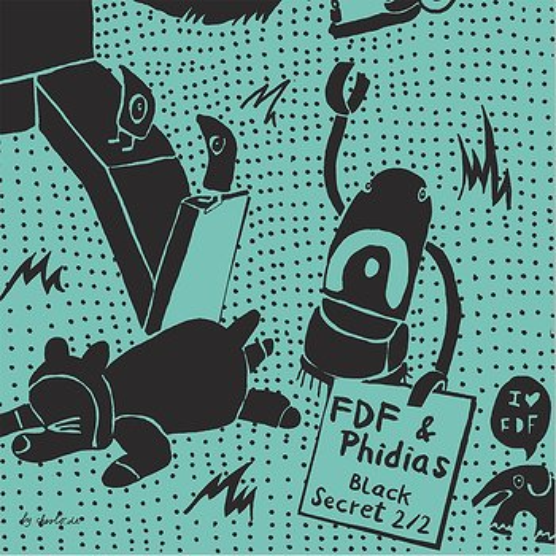 Cover art - Various Artists: Black Secret 2/2