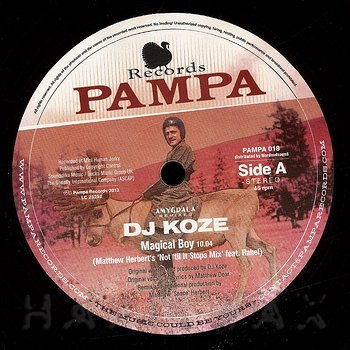 Cover art - DJ Koze: Amygdala Remixes 1