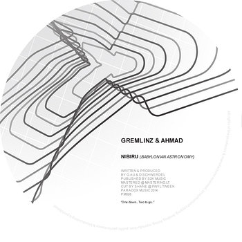 Cover art - Gremlinz & Ahmad: Nibiru