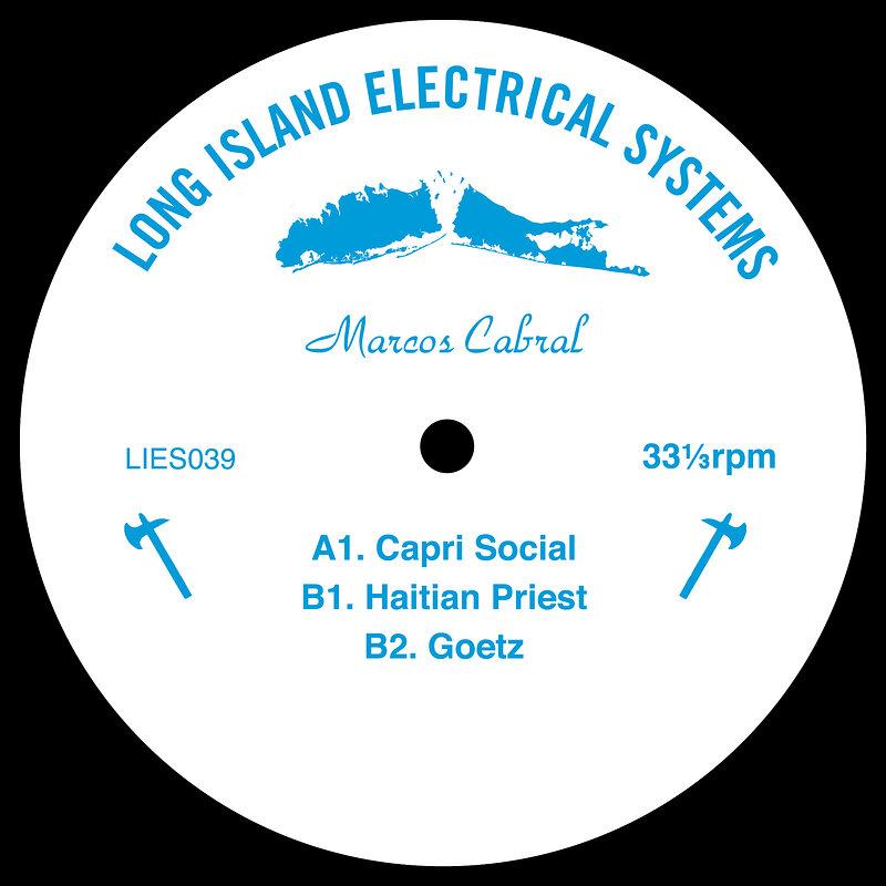 Cover art - Marcos Cabral: Capri Social