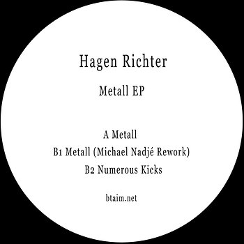 Cover art - Hagen Richter: Metall EP