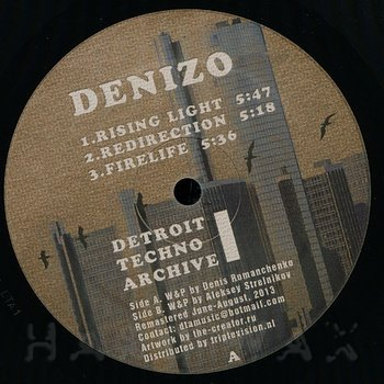 Cover art - Denizo / Alex W: Detroit Techno Archive I
