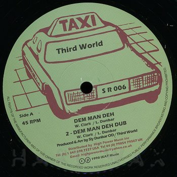 Cover art - Third World: Dem Man Deh
