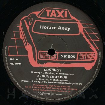 Cover art - Horace Andy: Gun Shot