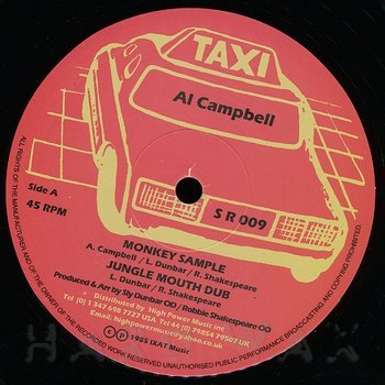 Cover art - Al Campbell: Monkey Sample