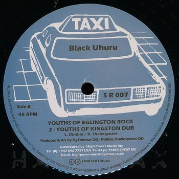 Cover art - Black Uhuru: Youths Of Eglington