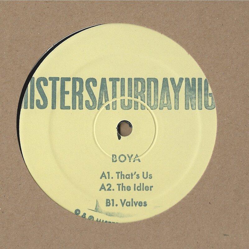 Cover art - Boya: That's Us