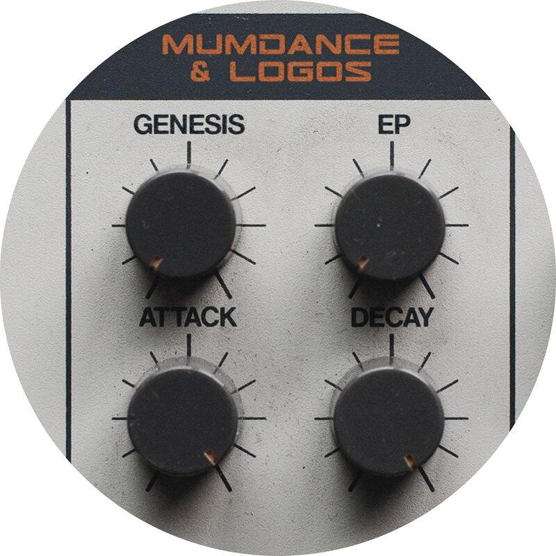 Cover art - Mumdance & Logos: Genesis EP