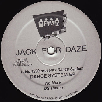 Cover art - L-Vis 1990: Dance System EP