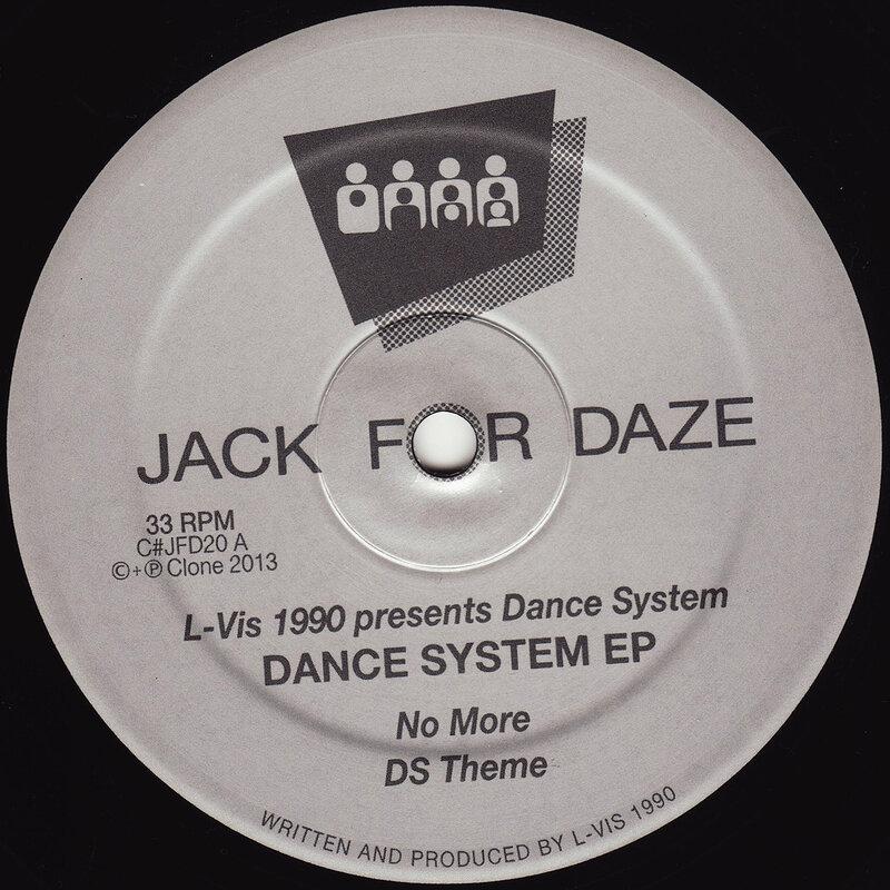 Cover art - L-Vis 1990: Dance System EP