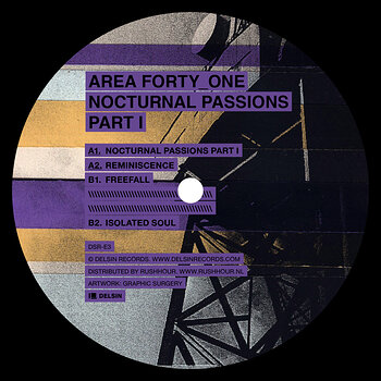 Cover art - Area Forty_One: Nocturnal Passions Part I