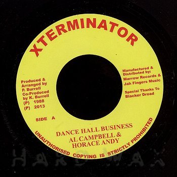 Cover art - Al Campbell & Horace Andy: Dancehall Business