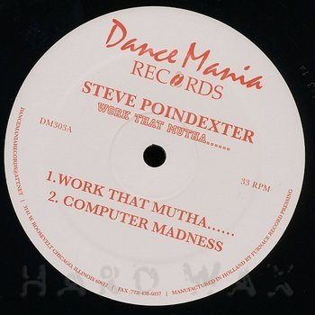 Cover art - Steve Poindexter: Work That Mutha....
