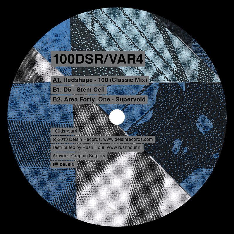 Cover art - Various Artists: 100DSR/VAR4