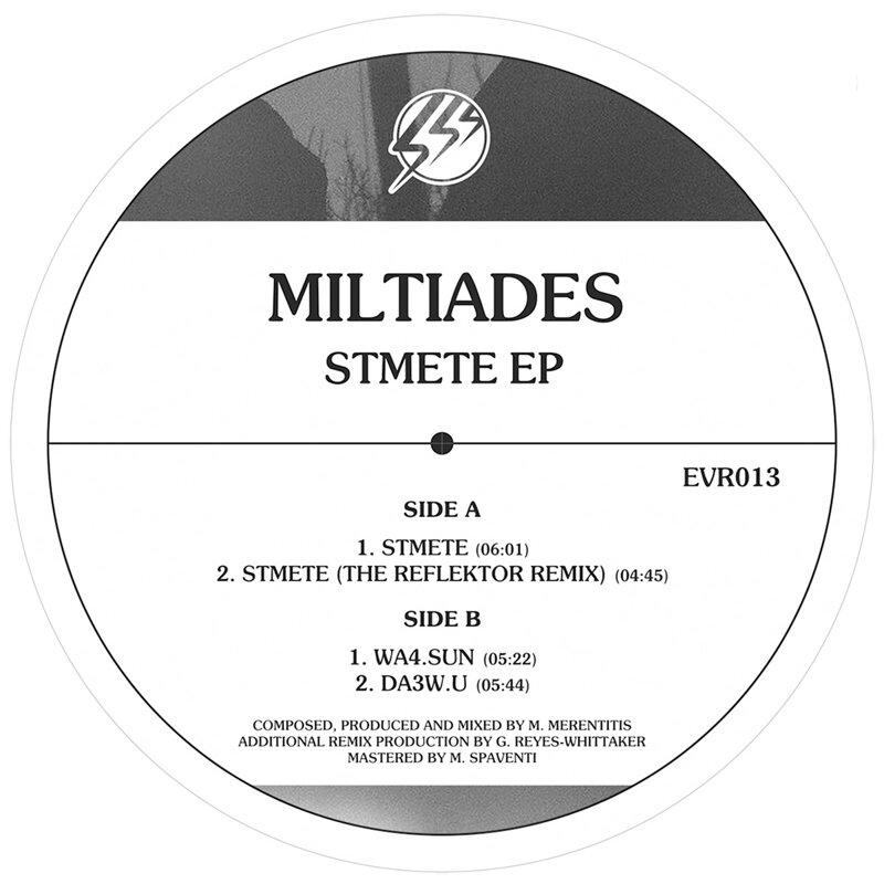 Cover art - Miltiades: Stmete EP