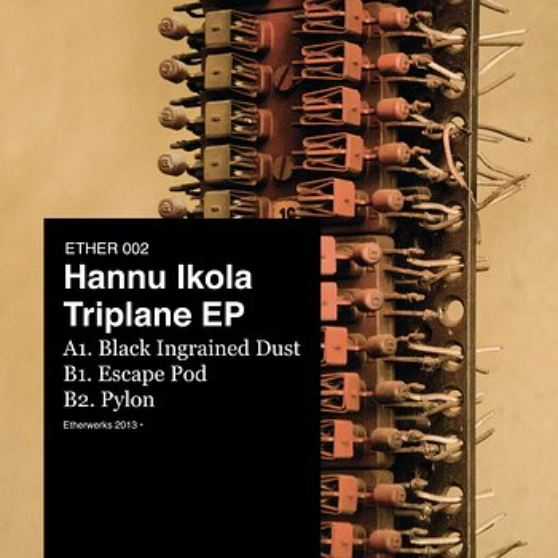 Cover art - Hannu Ikola: Triplane EP