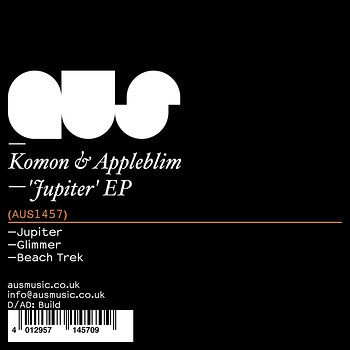 Cover art - Komon & Appleblim: Jupiter