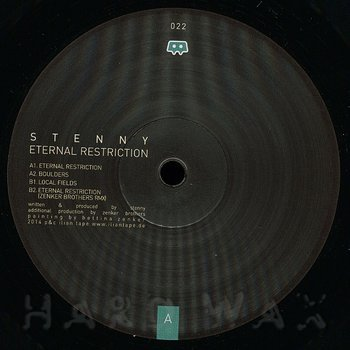 Cover art - Stenny: Eternal Restriction
