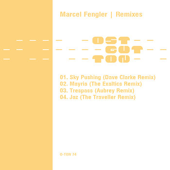 Cover art - Marcel Fengler: Remixes