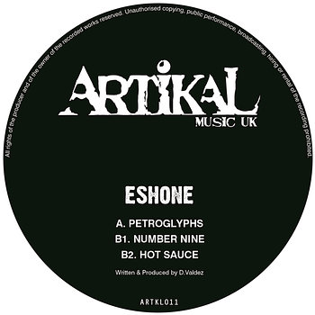 Cover art - Eshone: Petroglyphs EP