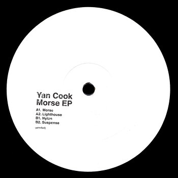 Cover art - Yan Cook: Morse EP