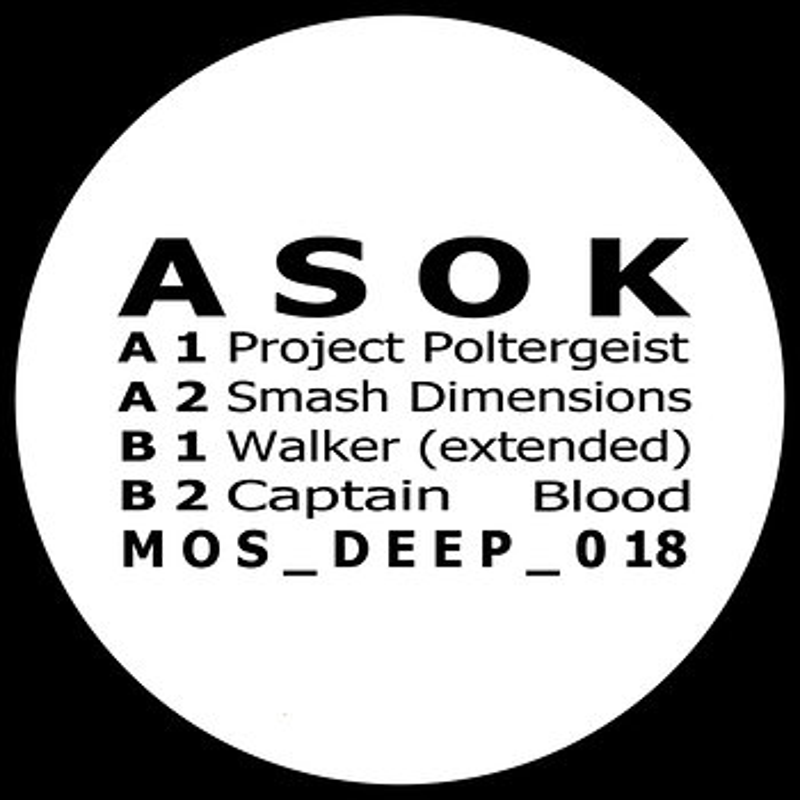 Cover art - Asok: Poltergeist