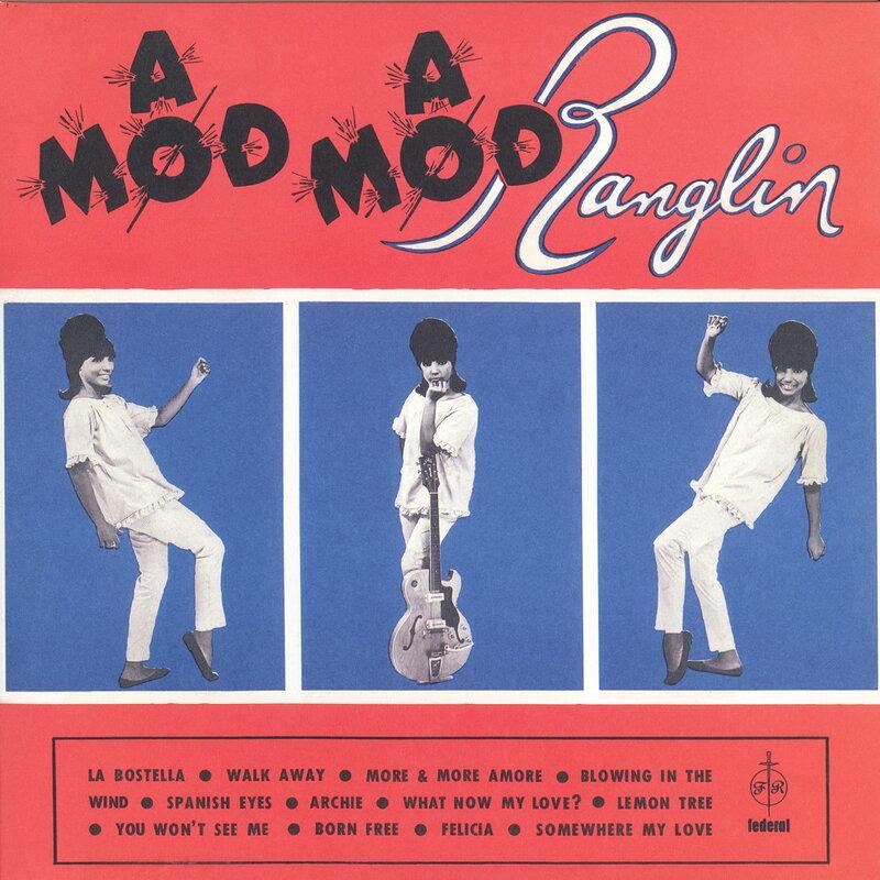 Cover art - Ernest Ranglin: A Mod Mod Ranglin