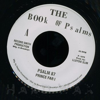 Cover art - Prince Far I: Psalm 87