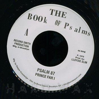 Cover art - Prince Far I: Psalm 87