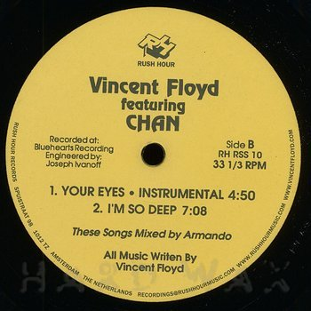Cover art - Vincent Floyd: Your Eyes