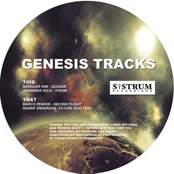 Cover art - Various Artists: Genesis Tracks