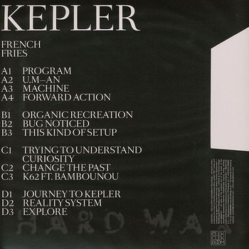 Cover art - French Fries: Kepler