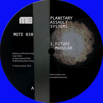 Cover art - Planetary Assault Systems: Future Modular