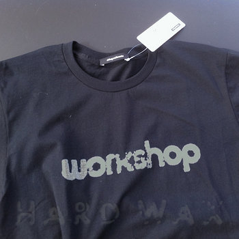Cover art - T-Shirt, Size XL: Workshop Logo, Black