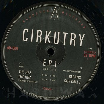 Cover art - Cirkutry: EP 1