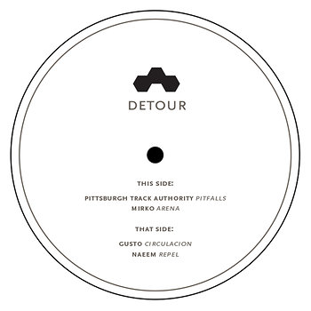 Cover art - Various Artists: Detour 001