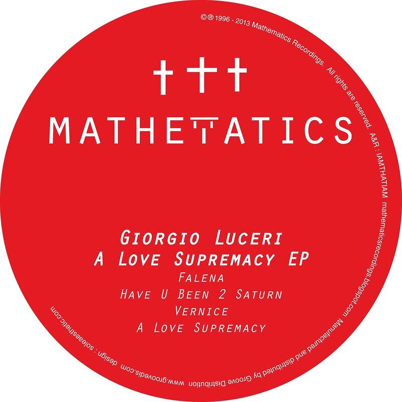 Cover art - Giorgio Luceri: A Love Supremacy EP