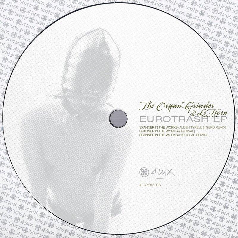 Cover art - The Organ Grinder & Le Horn: Eurotrash EP