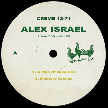Cover art - Alex Israel: A Man Of Qualities