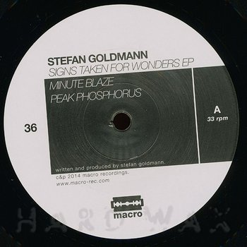 Cover art - Stefan Goldmann: Signs Taken For Wonders