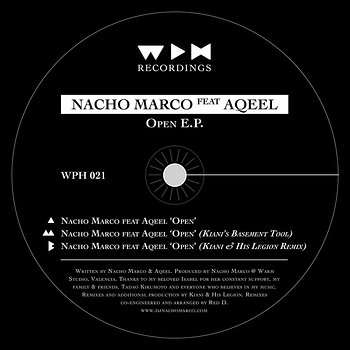 Cover art - Nacho Marco: Open