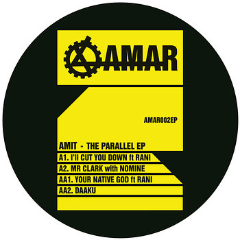 Cover art - Amit: The Parallel EP