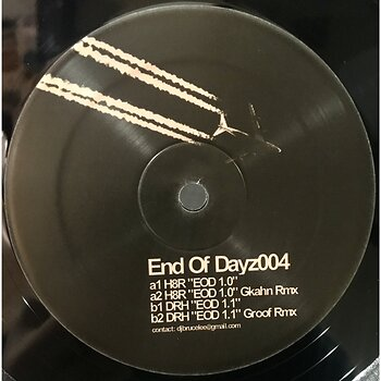 Cover art - H8R / DRH: End Of Dayz 004