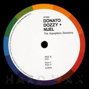 Cover art - Donato Dozzy & Nuel: The Aquaplano Sessions
